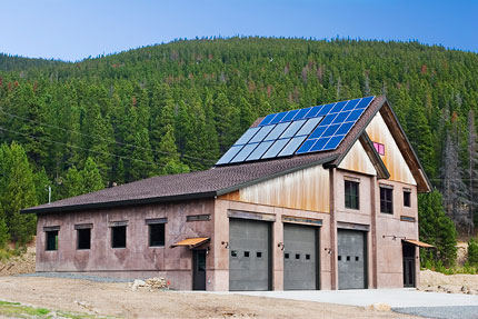 Net Zero Energy Firehouse